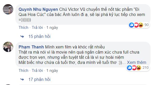 Review phim Mắt Biếc của bạn Quynh Nhu Nguyen và Pham Thanh