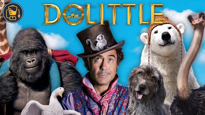phim hoạt hình Dolittle