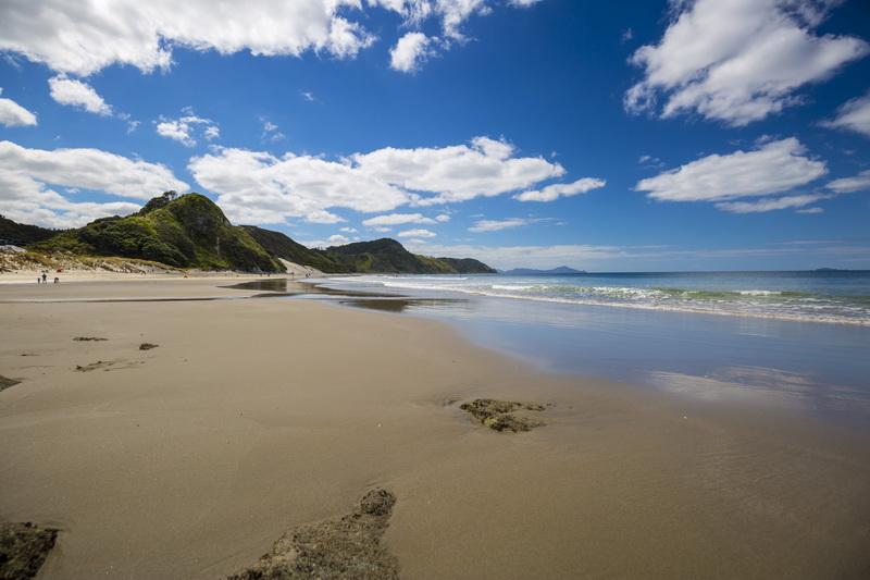 Mangawhai bãi biển yên bình nhất thế giới