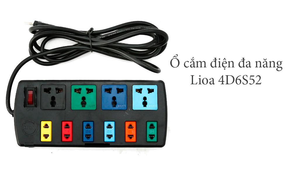 Ổ cắm điện đa năng Lioa 4D6S52