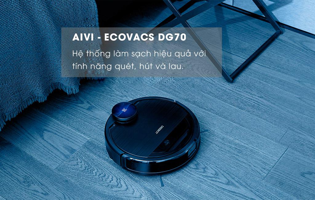 Robot hút bụi thích hợp cho nhà có diện tích nhỏ