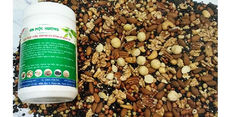 Bột ngũ cốc tăng cân 21 loại hạt dinh dưỡng An Mộc Hương