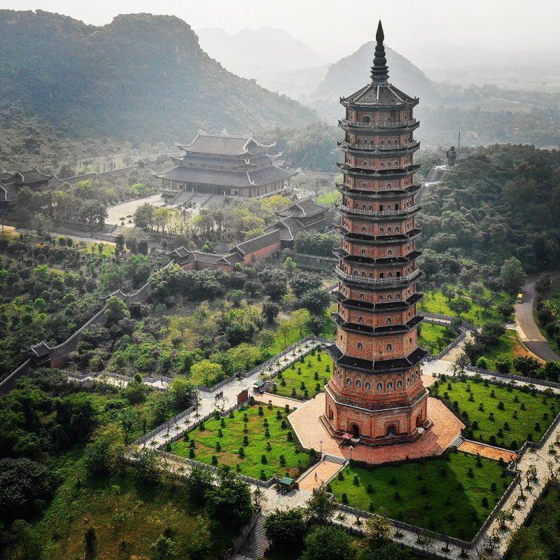 Chùa Bái Đính ngôi chùa lớn nhất tại Việt Nam