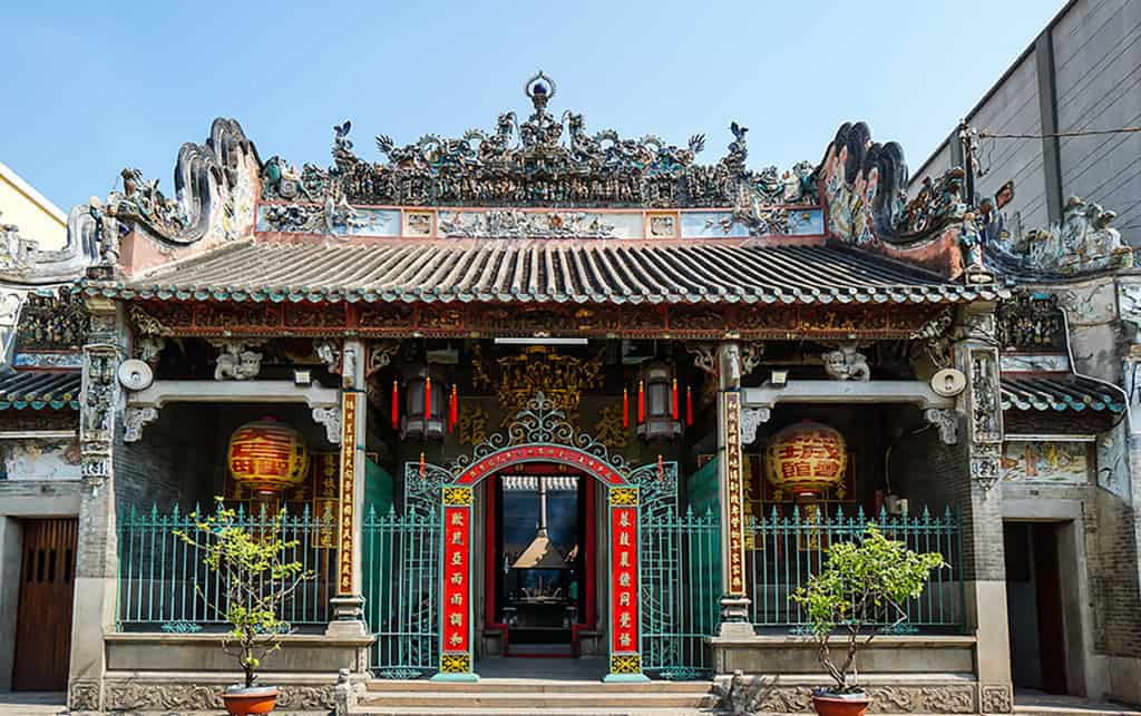 Chùa bà Thiên Mụ - một ngôi chùa tâm linh tọa lạc giữa lòng Sài Gòn