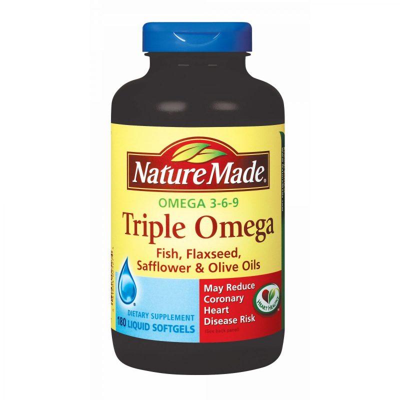 Dầu cá Omega 3 - thực phẩm bổ sung, bảo vệ tim mạch