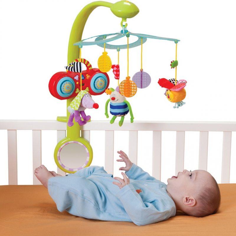 Bộ treo nôi có thể theo con bạn cho đến khi bé được 1 2 tuổi.