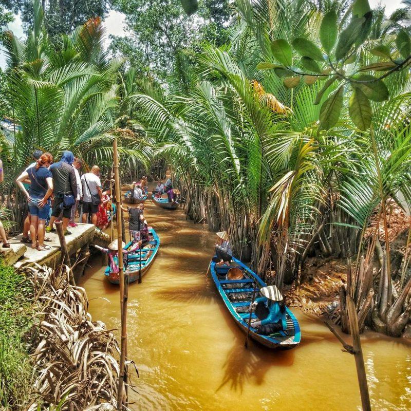 Khu du lịch Cồn Phụng Bến Tre thu hút đông đảo khách du lịch