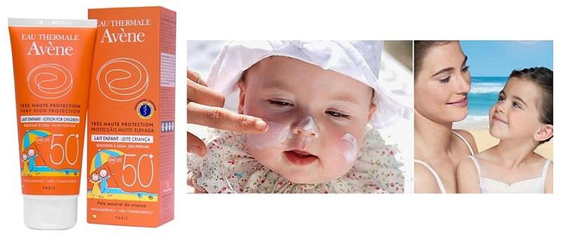 Kem Chống Nắng Dịu Nhẹ Dành Cho Trẻ Em Avene Very High Protection Lotion For Children SPF50+