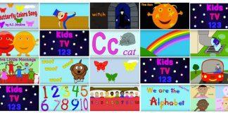 kênh youtube học tiếng anh cho trẻ em