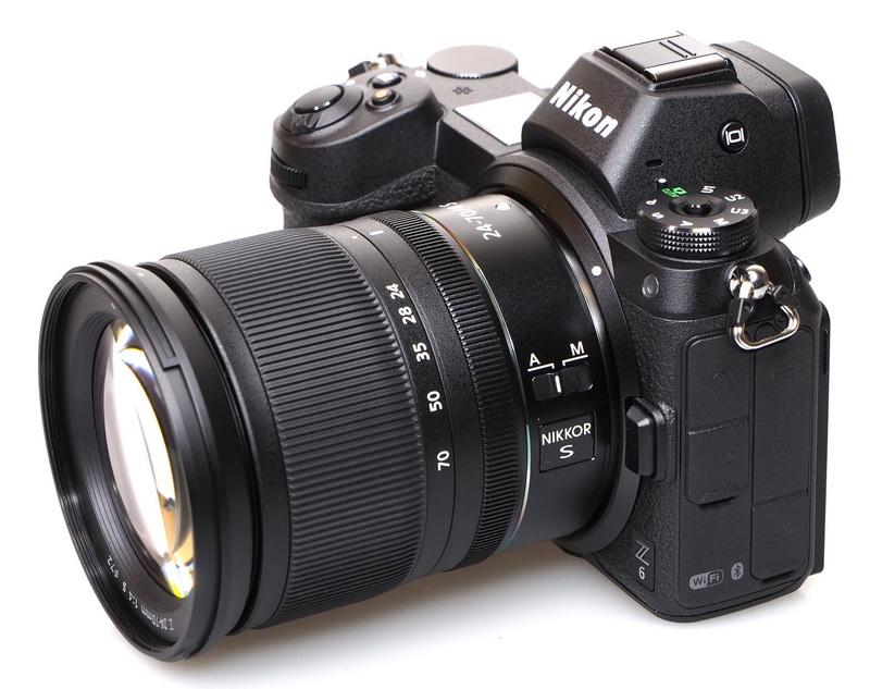 Máy ảnh du lịch Nikon Z6