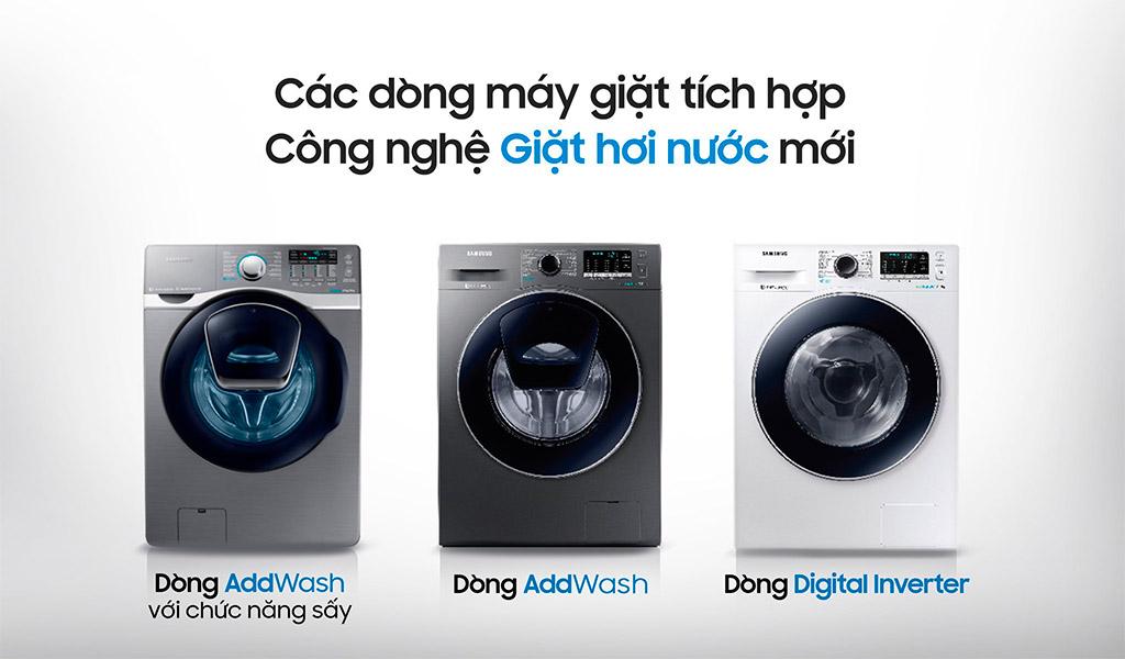 Máy giặt Samsung, máy giặt hiện đại