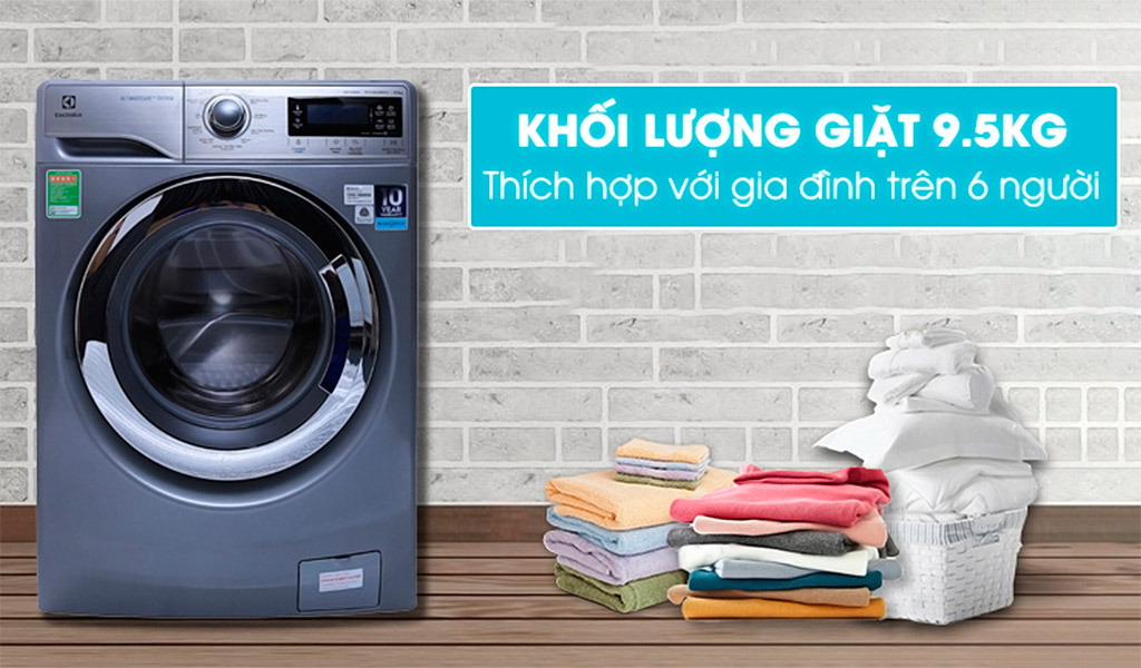 Máy giặt hiệu nào tốt, máy giặt Electrolux