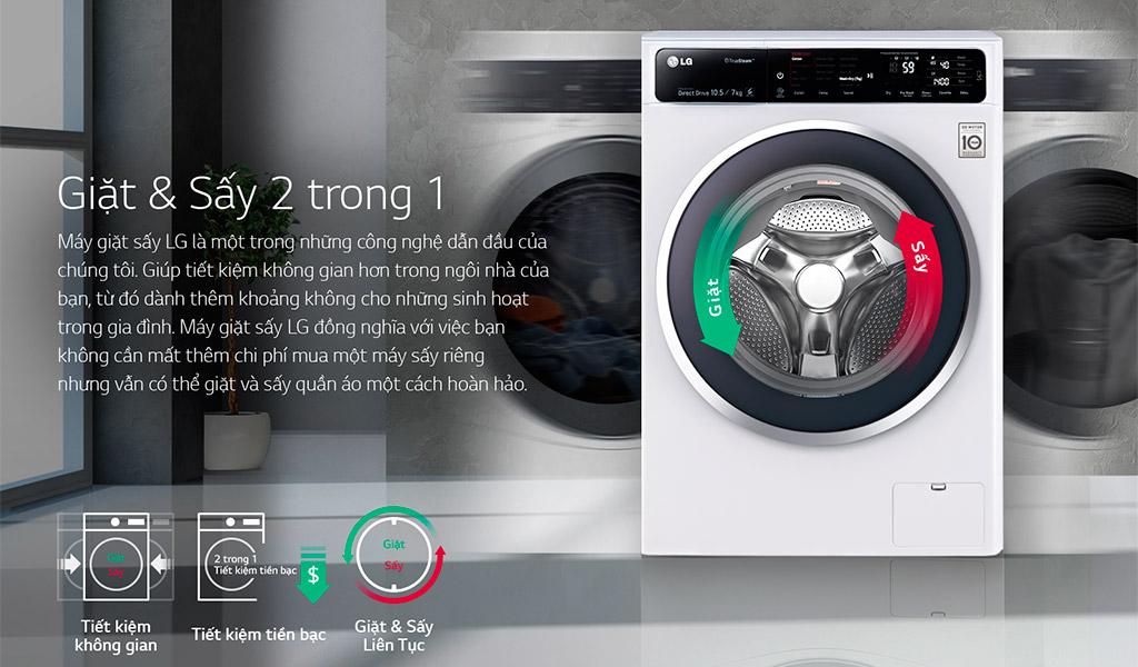 Máy giặt hãng nào tốt, LG
