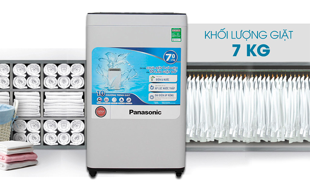 Máy giặt Panasonic tiết kiệm điện