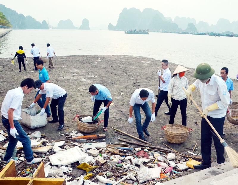Ô nhiễm môi trường đang là vấn đề nhức nhối toàn cầu.