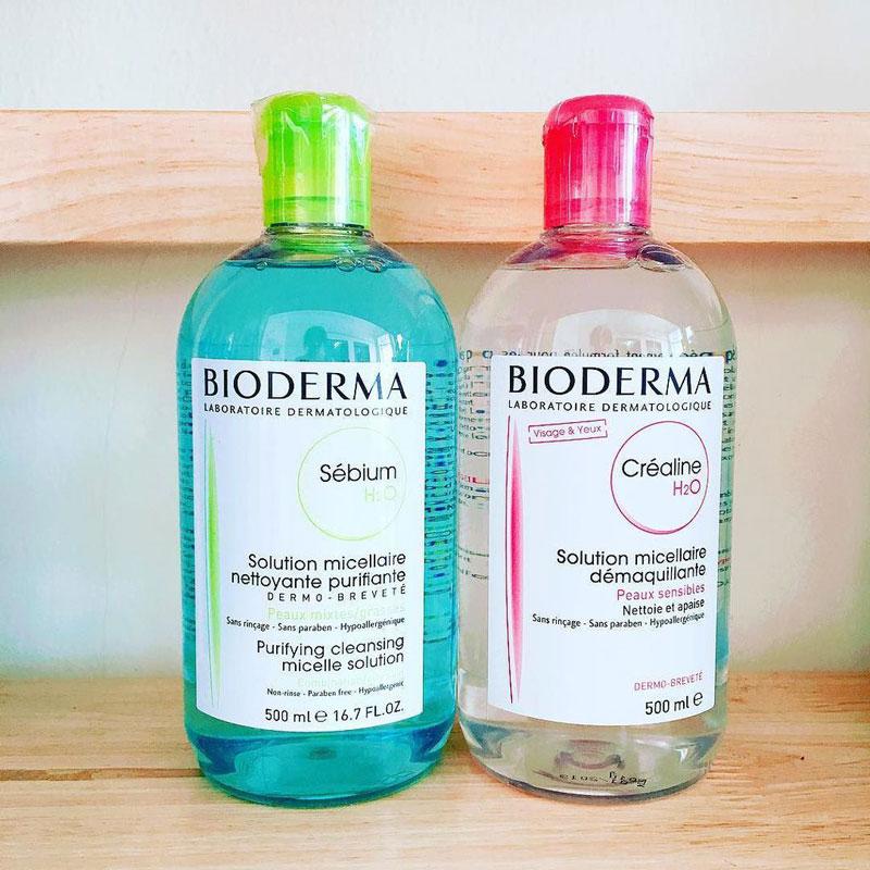Nước tẩy trang Bioderma chứa nhiều ưu điểm vượt trội