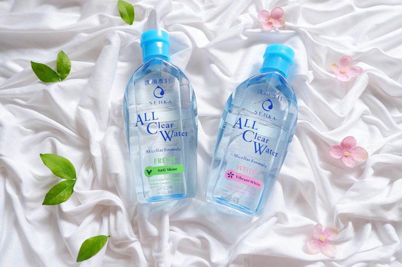 Senka All Clear Water Fresh là loại nước tẩy trang chứa các thành phần vô cùng lành tính