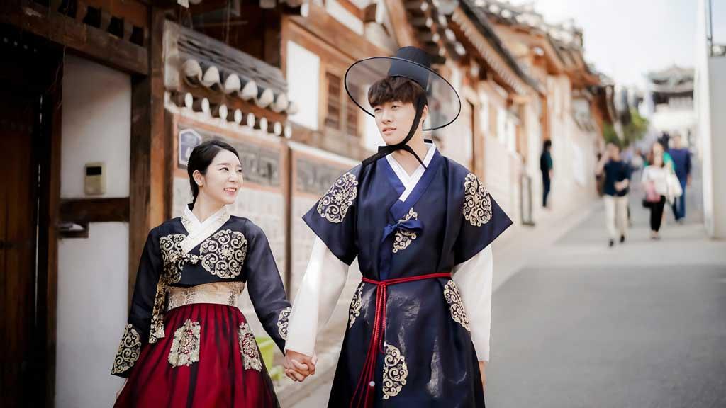 Hanbok, sự tinh tế tạo nên vẻ đẹp.