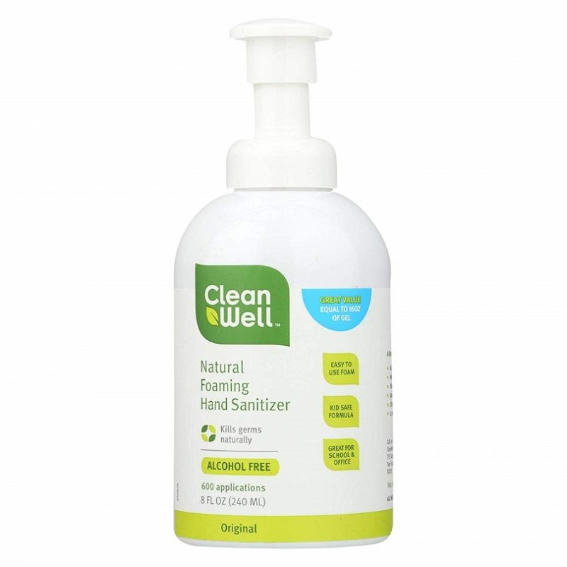 Sản phẩm không chứa cồn với công thức dưỡng ẩm nhẹ nhàng phù hợp với da em bé.