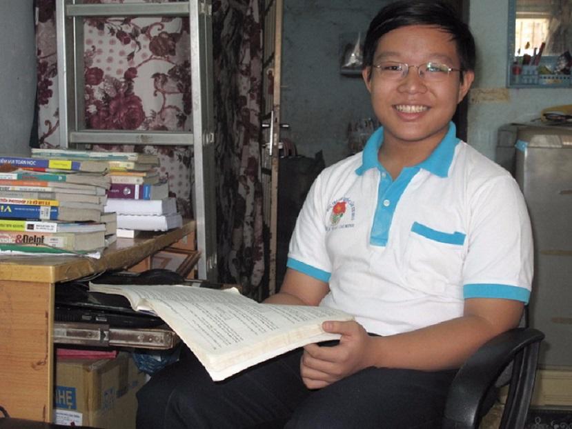 Dù được gọi là Thần đồng của Việt Nam nhưng cậu bé vẫn luôn giản dị