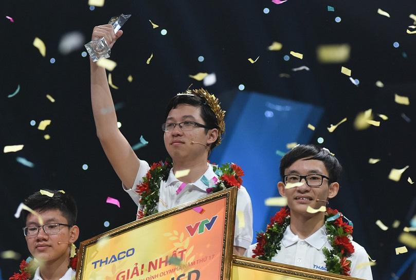 Thần đồng Phan Đăng Nhật Minh dành giải thưởng danh giá tại Đường lên đỉnh Olimpia