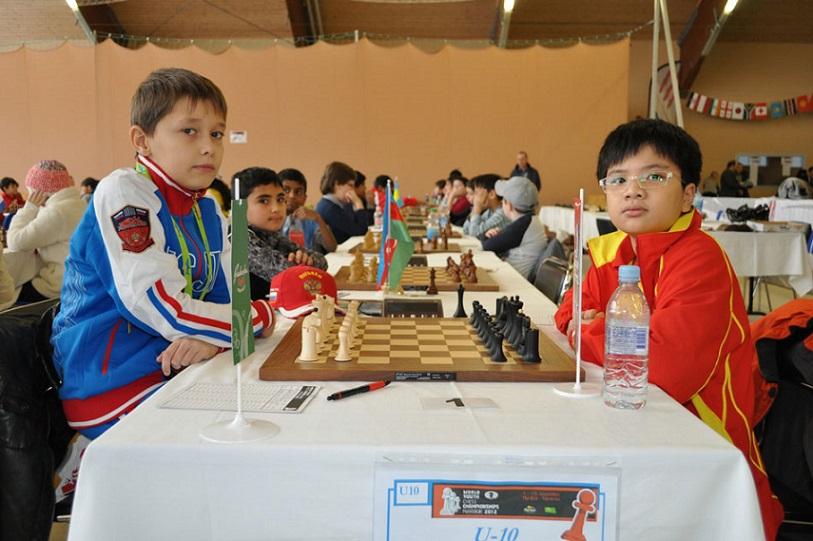 Nguyễn Anh Khôi đoạt chức vô địch Giải vô địch cờ vua trẻ thế giới 2012