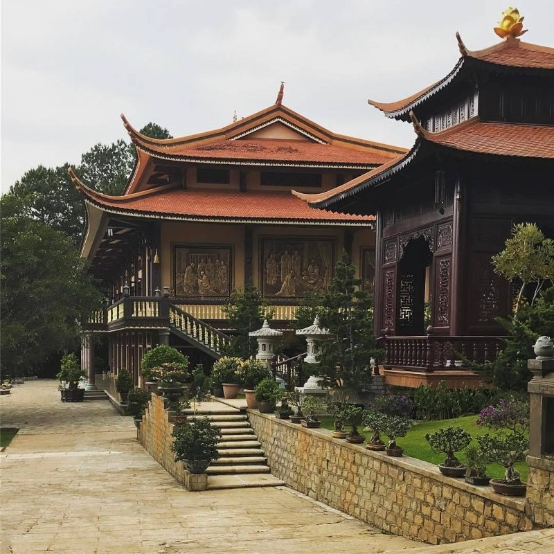 Thiền viện Trúc Lâm - Đà Lạt nổi tiếng với thiết kế kiến trúc độc đáo
