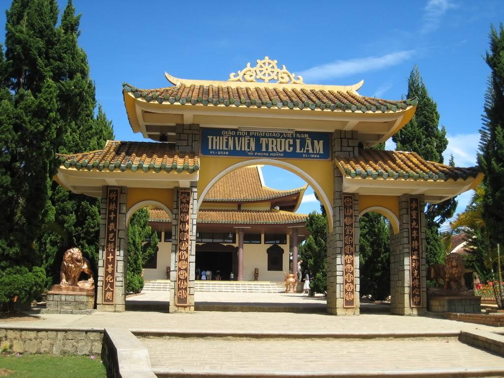 Thiền viện Trúc Lâm là khu du lịch tâm linh không thể bỏ qua