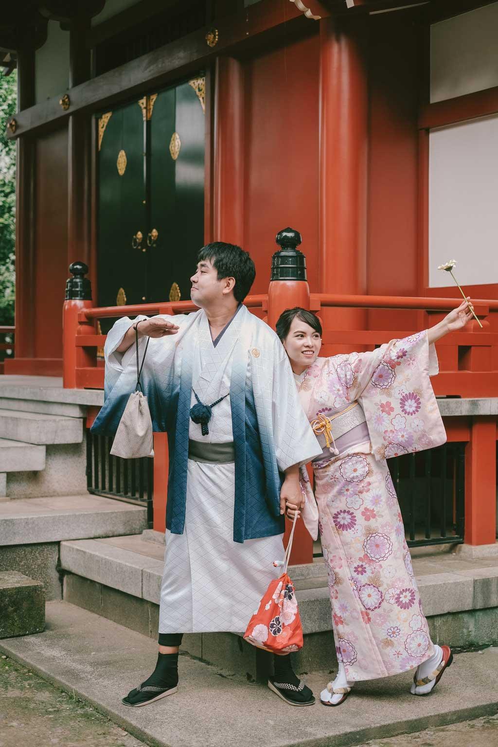 Kimono, vẻ đẹp hồn nhiên.