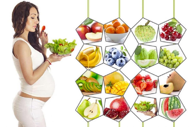 Trái cây ngon bổ dưỡng cho bà bầu