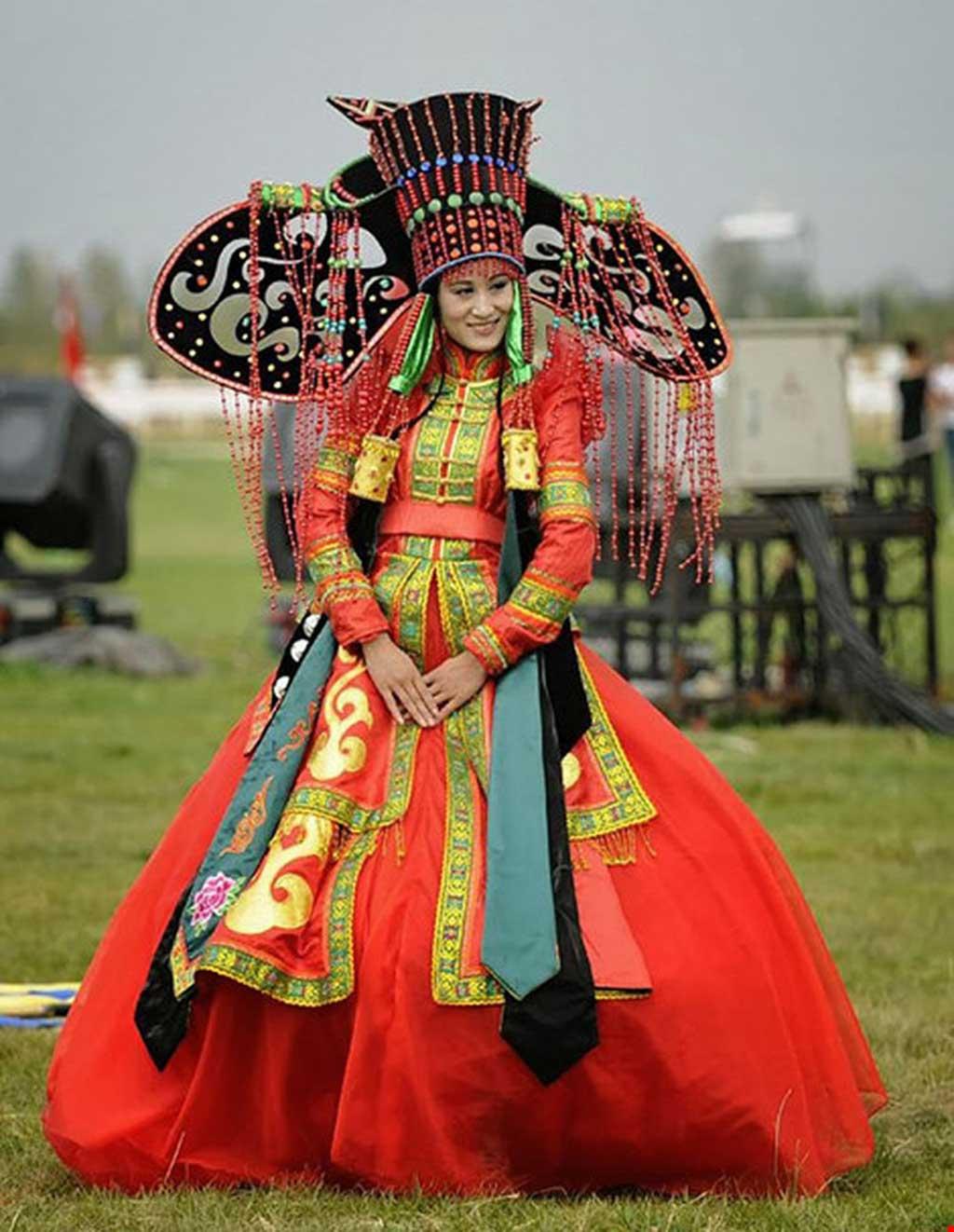 Trang phục cưới của Mông Cổ