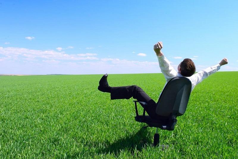 Giải tỏa đầu óc khỏi sự mệt mỏi căng thẳng.