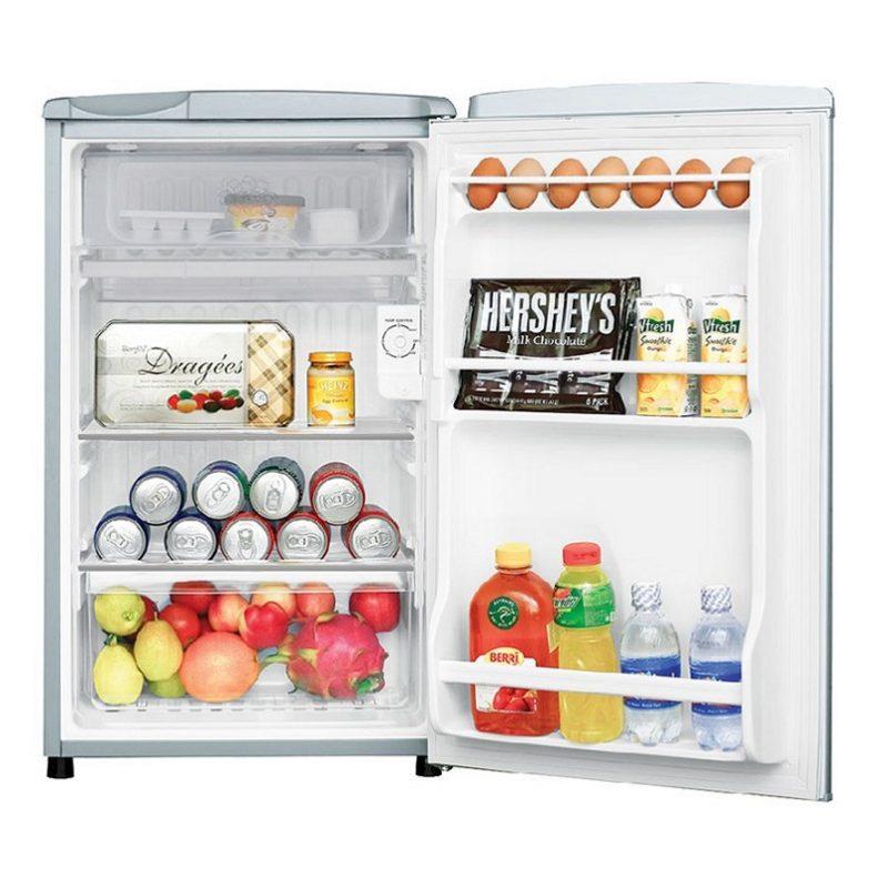 Tủ Lạnh Mini EUM0900SA 90L được thiết kế như một tử lạnh thông thường