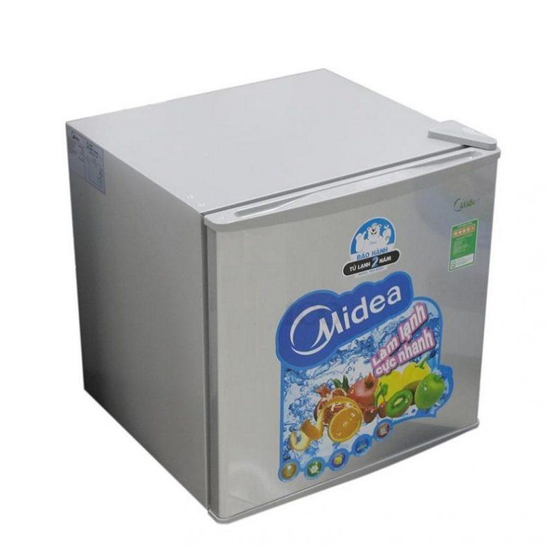 Tủ lạnh Midea HS-65SN là loại tủ lạnh mini với thiết kế nhỏ gọn có 1 cửa