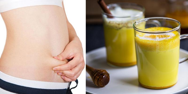 Tinh bột nghệ hỗ trợ giảm cân.