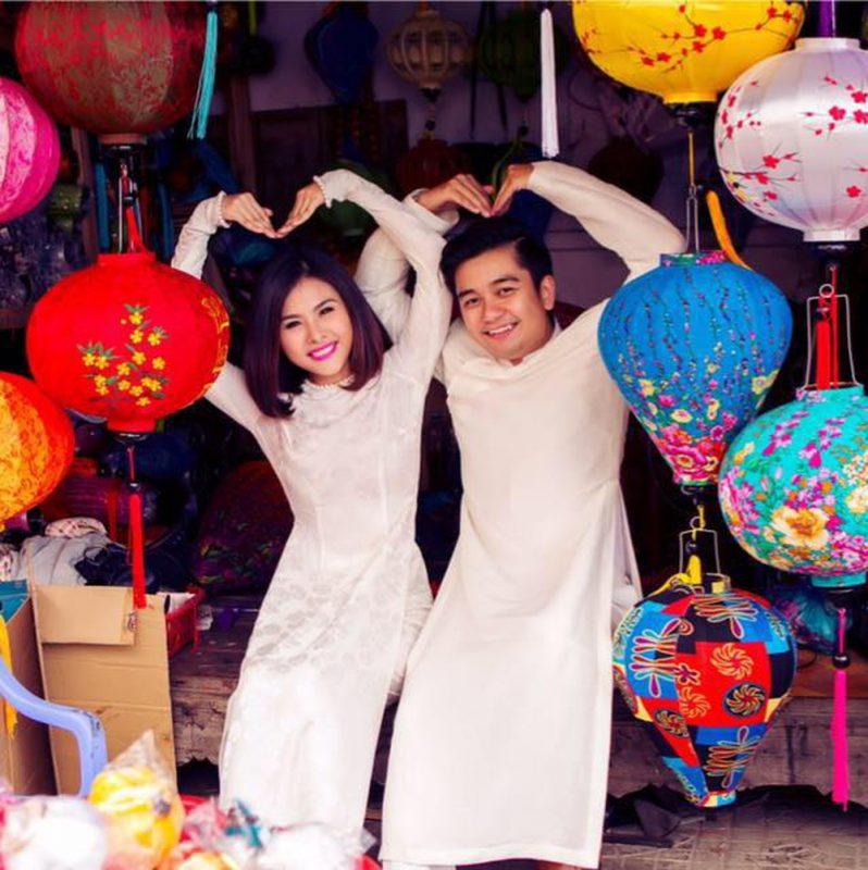 Vợ chồng nhà Vân Trang
