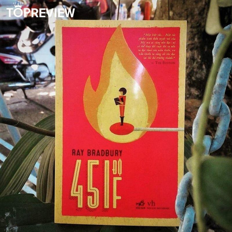 Review sách 451 độ F
