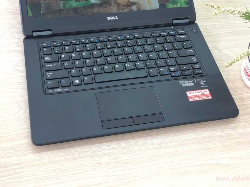 Bàn phím Dell Latitude E7450 đã có những cải tiến mới cho người dùng