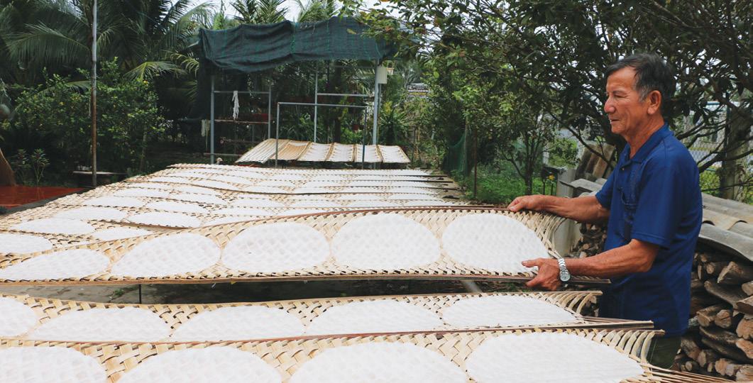 Bánh phồng Sơn Đốc ra đời nhiều năm và vẫn được lưu truyền đến tận này này