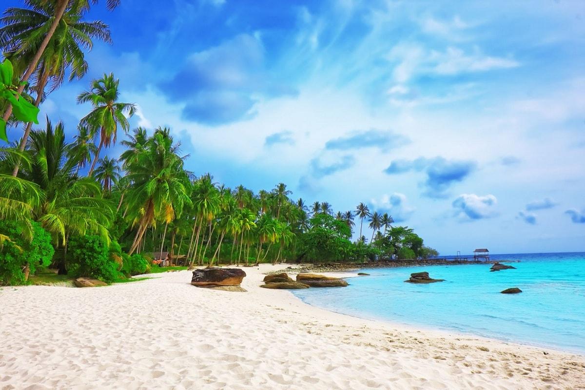 Biển Bãi Sao - khu du lịch nổi tiếng miền Tây