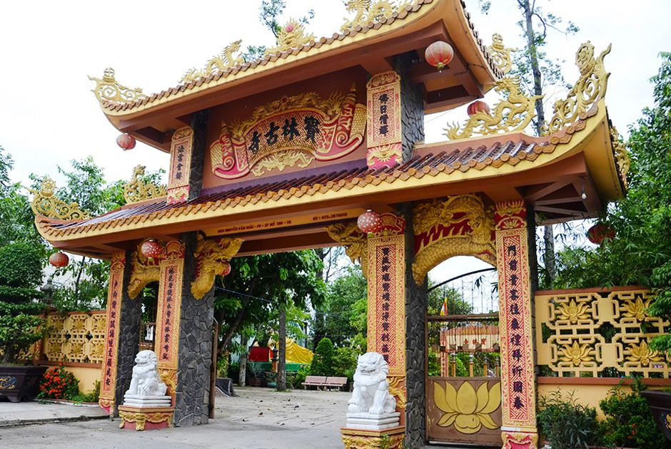 Đã qua nhiều lần tu sửa những ngôi chùa vẫn giữ được nét kiến trúc xưa