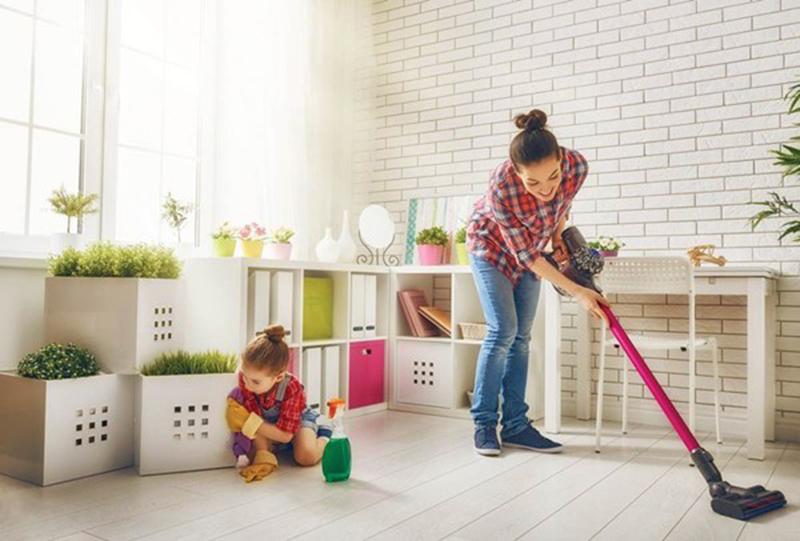 Dọn nhà trước Tết như một cách dọn những điều không may của cả năm cũ đi