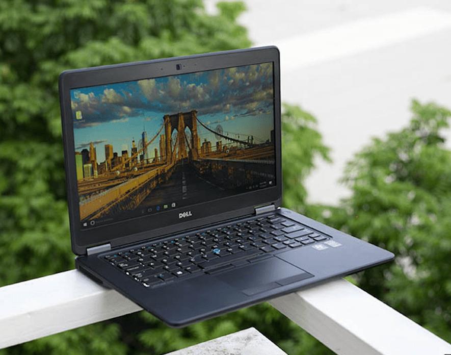 Dell Latitude E7450 có thiết kế mỏng nhẹ
