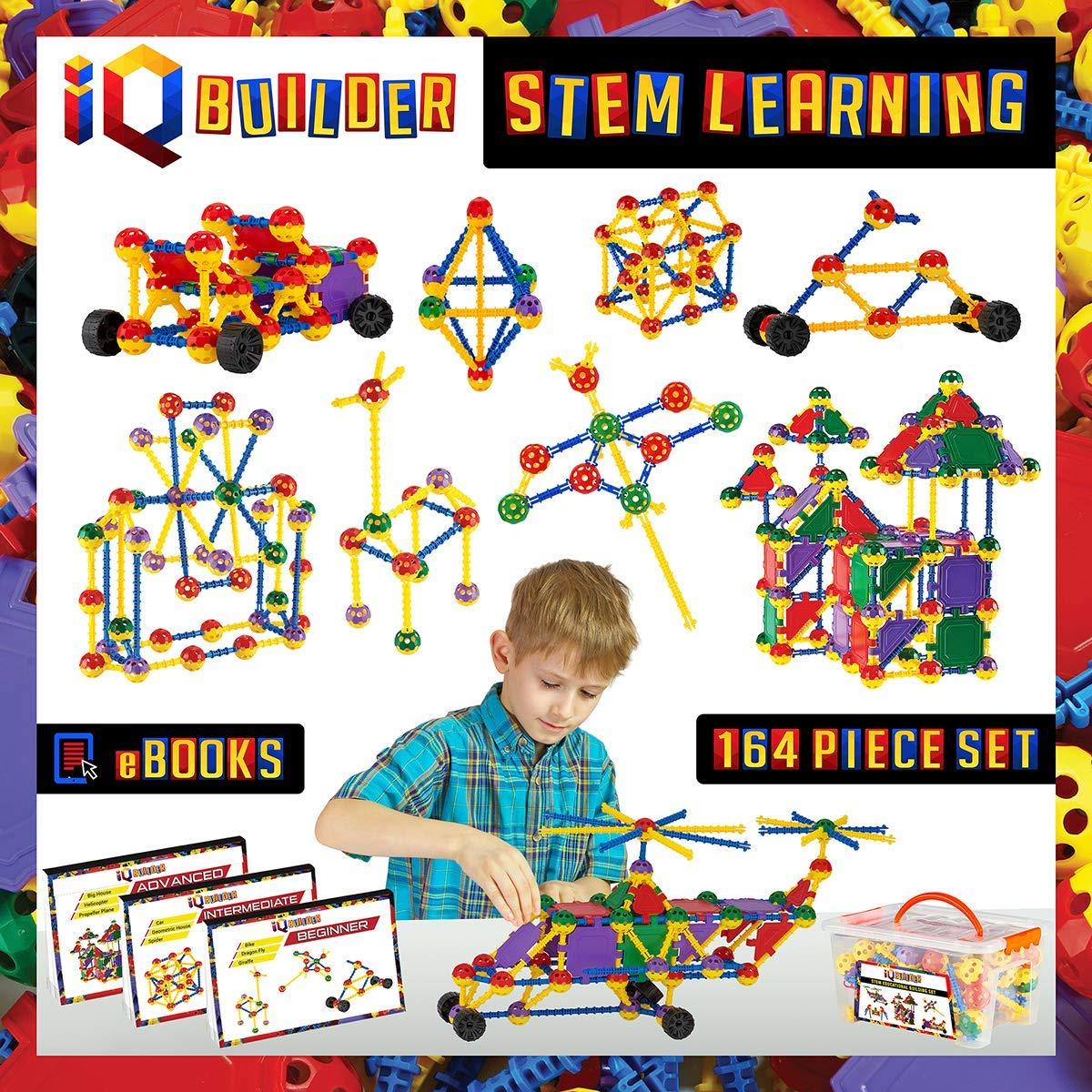 Bộ đồ chơi Kỹ thuật xây dựng IQ Builder