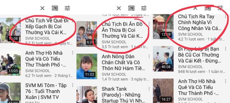 Những video Chủ tịch giả vờ.. và cái kết tràn lan trên youtube