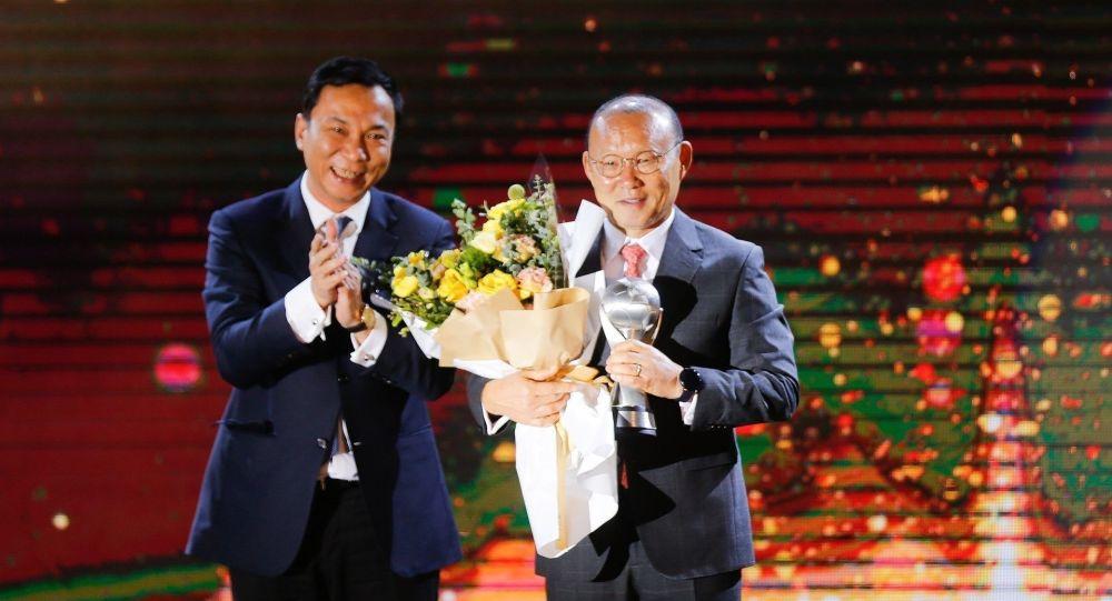 Huấn luyện viên Park Hang seo - điểm nhất của sự kiện thể thao