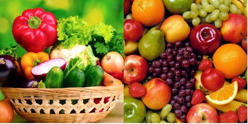 Người bị đái tháo đường nên ăn nhiều rau xanh, trái cây