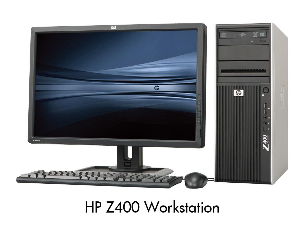 Review máy trạm Hp Workstation Z400