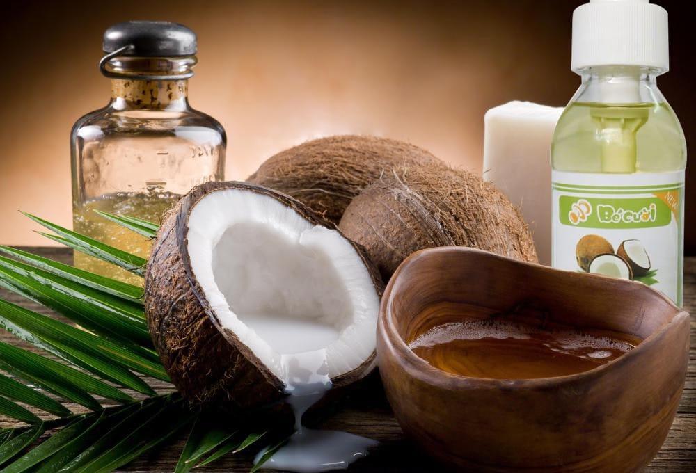 Dầu dừa có tác dụng dưỡng da, giảm cân