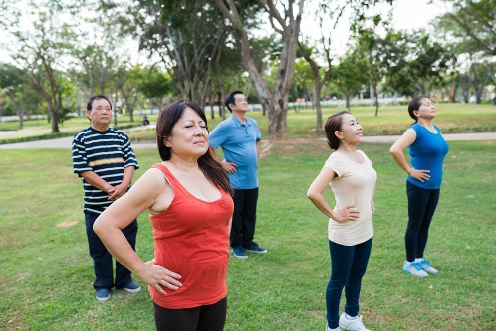 Tập thể dục nhẹ nhàng giúp tình trạng bệnh thuyên giảm